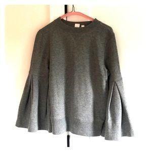 Bell sleeved sweatshirt